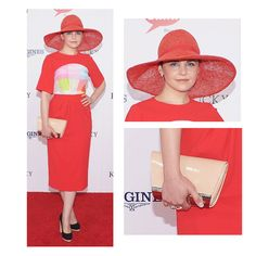 Ginnifer Goodwin in Preen at the Kentucky Derby-also seen in Preen this week-First Lady and Scar Jo