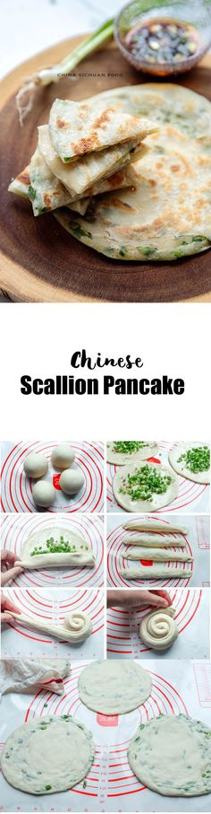 You Have Meals Poisoning More Normally Than You're Thinking That Easy Chinese Scallion Pancake Healthy Eating Recipes, Vegetarian Recipes, Cooking Recipes, Scallion Pancakes Chinese, Authentic Chinese Recipes, Yummy Food, Tasty, Warm Food, Food Tasting