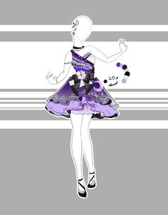 .::Outfit Adoptable 46(ON HOLD)::. by Scarlett-Knight on DeviantArt