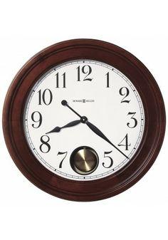 625-314 Griffith, Howard Miller Wall Clock, Windsor Cherry Finish