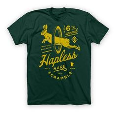 HAPLESS HARE T - Mens Casual- TWIN SIX - Alternative Cycling Apparel