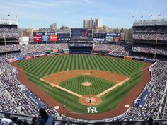 The New Yankee Stadium Home Of My York Yankees This One Was A