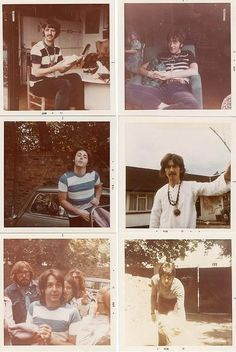 Vintage Fab Four photos.