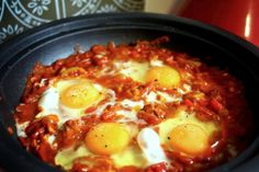 Shakshouka – Moroccan Egg Tagine from Irena Macri of Eat Drink Paleo. #Easter #Idea #paleo