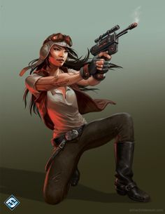 """""""Dr. Aphra"""" by Anna Christenson."""