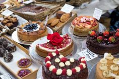 Beautiful #glutenfree #sugarfree #dairyfree cakes at last years Free From Fest