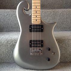 Booches Custom Guitars: Silver #1