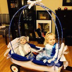 homemade Cinderella carriage :)