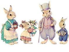 Очаровательная игра «Семейство Хоппер» от Beatrix Potter | Ярмарка Мастеров - ручная работа, handmade