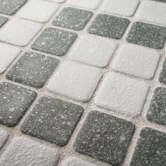 SomerTile 11.75x11.75-inch Scholar Bazaar Grey Porcelain Mosaic Floor and Wall Tile (Case of 10)
