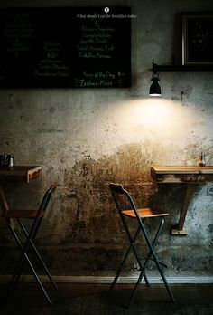 Restaurant and Bar Designs. Bar Interior, Interior And Exterior, Interior Design, Creperia Ideas, Room Ideas, Berlin Cafe, Café Bistro, Café Bar, Cafe Shop