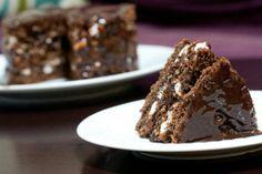 Chocolate Malt Layer Cake {Milk Bar Monday 2/18}