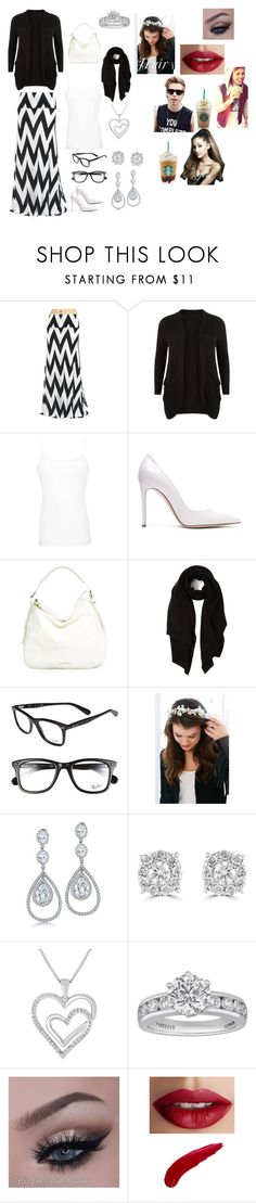 """You and your boyfriend Ashton and your best friend Luke getting star bucks"" by becca-arceo ❤ liked on Polyvore featuring New Look, BKE, Gianvito Rossi, Jimmy Choo, Cash Ca, Ray-Ban, Urban Outfitters, Bling Jewelry, Effy Jewelry and Tiffany & Co."