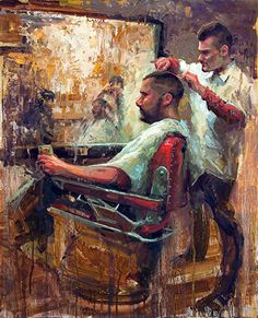 Jeans Hair Style, Barber Shop Pictures, Graffiti Wallpaper Iphone, Barber Logo, Best Couple Tattoos, Barber Shop Decor, Men Hair Color, Rockabilly Hair, Painting Competition