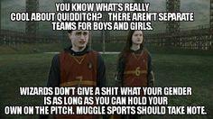 Take note Muggles!