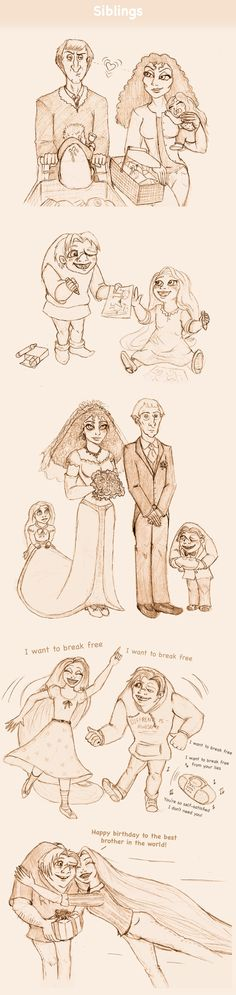 Siblings by Morloth88.deviantart.com on @deviantART  First in a really awesome Disney High series!!! :)