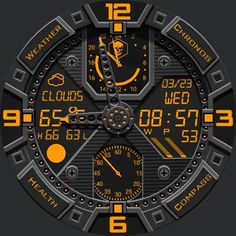 Dominator  watch face preview