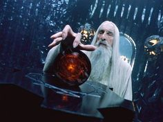 Saruman one of the five Istari and chief of the wizards and of the White Council