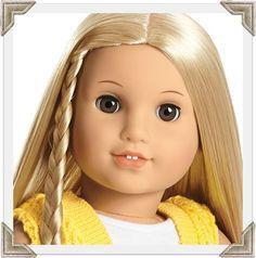 Julie Albright. | American Girl Dolls ... | Pinterest  |American Doll Julie Albright