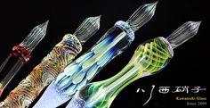 硼珪酸ガラスのペン