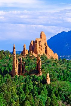 Garden of the Gods, Colorado Springs, Colorado USA | A1 Pictures We have been here and it is truly beautiful!