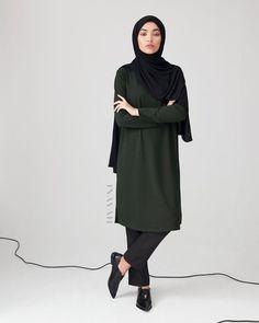 Modest Fashion for Modern Women by Inayah Hijab Casual, Hijab Chic, Hijab Outfit, Muslim Fashion, Modest Fashion, Hijab Fashion, Women's Fashion, Minimal Fashion, Retro Fashion