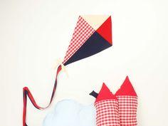 Cometa hecha a mano por Vamos de picnic. Modelo American Style