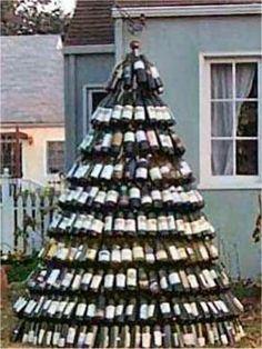 Arbol de Navidad Vinos