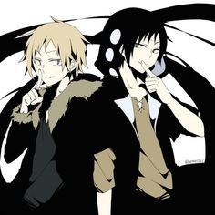 Durarara!! and Mekaku City Crossover