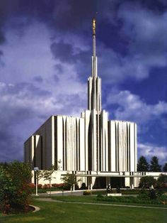 Seattle, WA—This was the first temple that I ever entered. It has been years since I've even seen it. Beautiful.