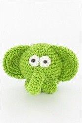free pattern crochet elephant | REPINNED