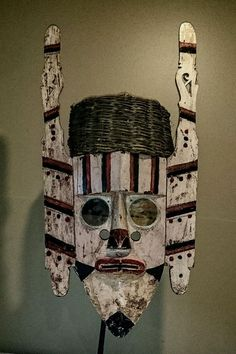 dayak soul catcher hudoq mask. Indonesia borneo