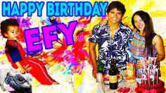 Happy Birthday Efy. Be Happy.