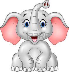 Illustration about Illustration of Cartoon cute baby elephant isolated on white background. Illustration of kind, small, friendly - 61061873 Cartoon Cartoon, Cartoon Monkey, Scrapbooking Image, Cute Baby Elephant, Baby Elephant Drawing, Tribal Elephant, Elephant Head, Baby Elefant, Bunny Drawing