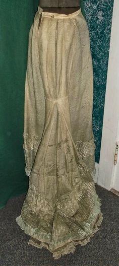 1880's Bustle Era Dress