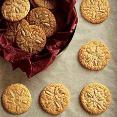Healthy Pine Nut Cookies Recipe | CookingLight.com