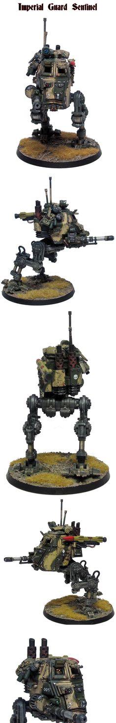 Imperial Guard, Sentinel, 40K Warhammer 40k
