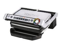Tefal GC702D Optigrill, 2000 W, (automatische Anzeige des Garzustandes, 6 voreingestellte Grillprogramme, Edelstahl)