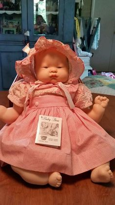 Vintage Baby Dear Doll by Vogue Dolls  Nice 1 owner doll.