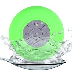 BTS - 06 Portable Water Resistant Shower Bluetooth Speaker Wireless Suction Cup Support for IPhone, IPod, Laptop, Mobile phone, MP3, MP4, MP5, PC, PSP, Tablet PC Speaker