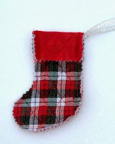 Trim the tree this year with the Traditional European Stocking Ornament. This tutorial on how to make Christmas ornaments instructs you on the technique of putting together an adorable adornment for your home.