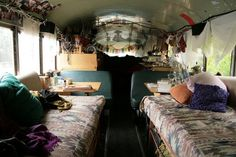 totally on my bucket list! how much fun would it be to travel in a bus