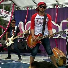 Nunoz Nugraha & Drie FM at Inbox SCTV #location Miko Mall Kopo Bandung, 12.6.2013
