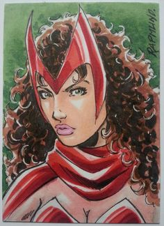 Scarlet Witch - Awesome Art Picks: Baroness, Avengers, Dazzler, and More - Comic Vine