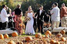 Fall -- how about a walk through the pumpkin patch as Mr. Plum Wedding, Fall Wedding Cakes, Fall Wedding Bouquets, Fall Wedding Flowers, Fall Wedding Colors, Dream Wedding, Wedding Details, Wedding Ideas, Wedding Stuff