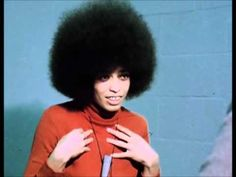 """Angela Davis: """"[W]hen someone asks me about violence [as a tactic of resistance], I just…. I just find it incredible. Because what it means is that the person asking that question has no idea what black people have gone through… what black people have experienced in this country since the time the first black person was kidnapped from the shores of Africa."""""""