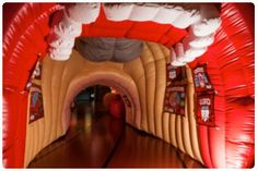 The Mega Body a walk through inflatable interactive human body exhibit