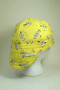 Minions Custom Welding Cap by JimmyCapsWeldingHats on Etsy