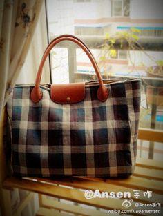 .plaid + leather