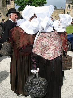 Normandy folk costumes by Man vyi, via Flickr